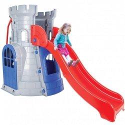 WOOPIE Wieża ze Zjeżdżalnią Zamek Domek Plac Zabaw dla Dzieci