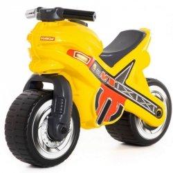 Wader QT Jeździk Motorek Biegowy MX Żółty do 50kg