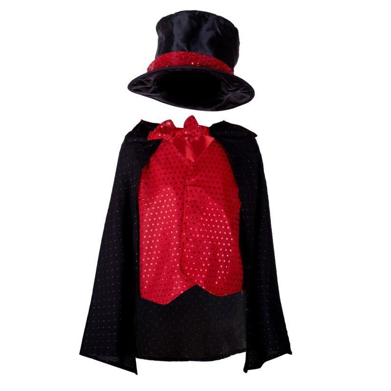 Kostium strój karnawałowy magik czarodziej