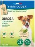 Francodex Obroża insektobójcza dla małego psa 35cm