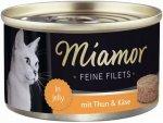 Miamor Feline Filtes Tuńczyk+ Ser 100gr