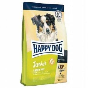 Happy Dog Junior karma z Jagnięciną i Ryżem 10 kg