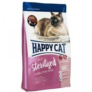 Happy cat Supreme Sterilised Wołowina 10kg