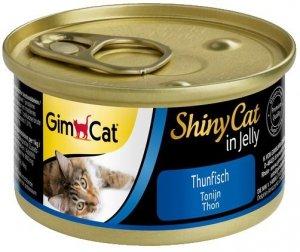 Gimcat Shiny Cat puszka dla kota z tuńczykiem 70gr