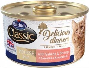 Butchers  Delicious Dinners łosoś/krewetk 85g