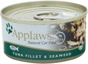 Applaws Cat Tuna and Seaweed 70g puszka
