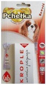 Pchełka Krople ochronne dla psów powyżej 5kg- 1,5ml