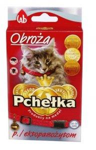 Pchełka Obroża p/ektopasożytom z dzwonkiem 35cm dla kota