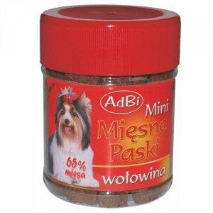 Adbi AM 49 Mini Mięsne Paski Wołowe 300g