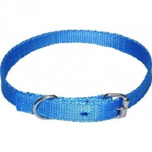 Chaba Obroża  Taśma standard 16x46 niebieska