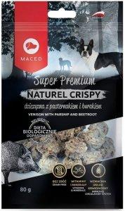 Maced Naturel Crispy dziczyzna z pasternakiem 80 gram