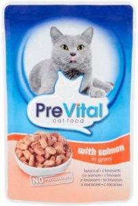 PreVital saszetka dla kota 100g Łosoś sos