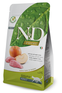ND Cat NG Adult 300g Boar&Apple