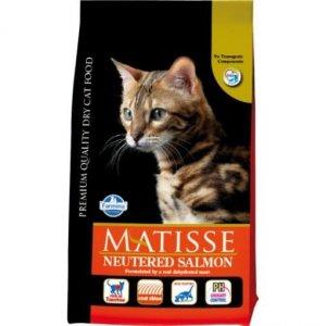 Matisse Cat Adult 10kg Neutered Salmon