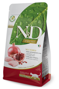 ND Cat NG Adult 1,5kg Neutered Chicken&Pomegranate