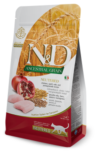ND Cat LG Adult 300g Neutered Chicken&Pomegranate
