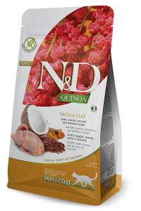 ND Cat NG Adult Quinoa 300g Skin&Coat Quail