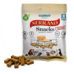 Serrano Snack Dog 100g wątróbka foie