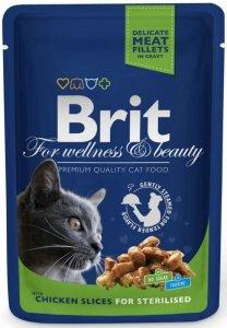 Brit Premium Cat 100g Chicken Sterilised sasz