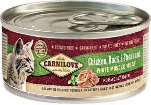 Carnilove Cat 100g Adult Chicken Duck Pheas