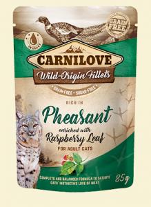 Carnilove Cat Pouch Pheasant & Raspberry 85g