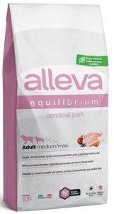Alleva Equilibrium Dog 3100 M/M Pork12kg