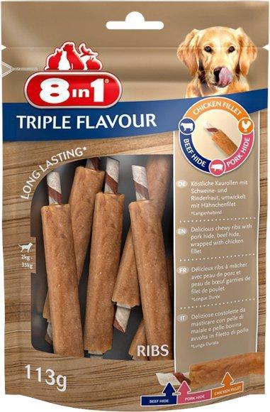 8in1 Przysmak Triple Flavour Ribs 6szt.