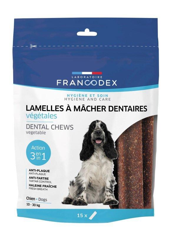 Francodex Paski średnie na kamień i zapach 15szt