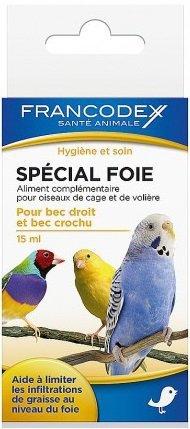 Francodex Środek dla ptaków na watrobę 15ml