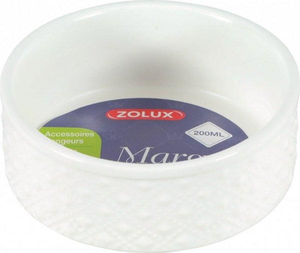 Zolux Miska gres dla gryzoni MARGOT 200ml biała
