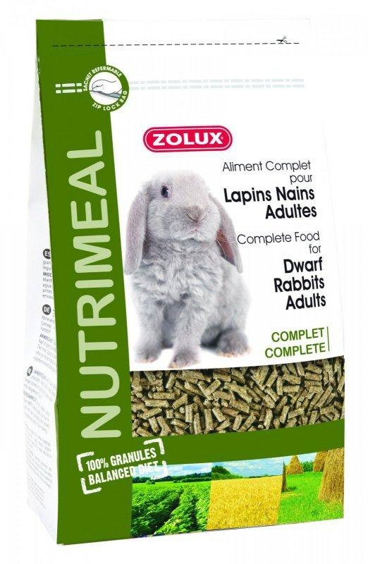 Zolux NutriMeal Granulat Królik adult 2,5kg