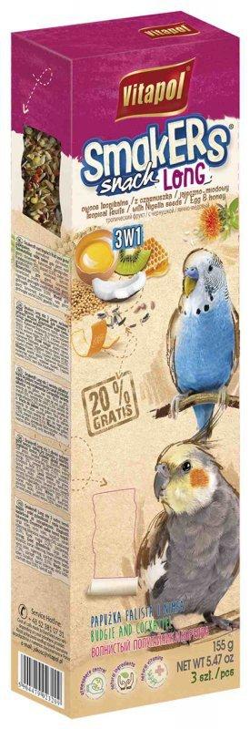 Vitapol Kolby Long mix 3 smaki dla papużki i nimf