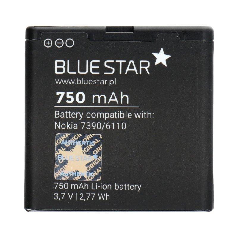 Bateria do Nokia 7390/6110 Navigator/8600 Luna/6500 Slide/5610 750 mAh Li-Ion Blue Star