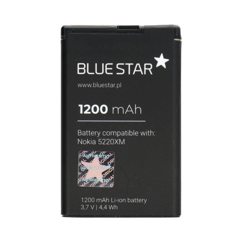 Bateria do Nokia 5220 XM/5630 XM/6303/6730/3720/C3/C5-00/C6-01 1200 mAh Li-Ion  Blue Star PREMIUM