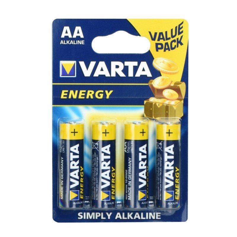 Bateria Alkaliczna VARTA R6 (AA) 4 szt. Energy