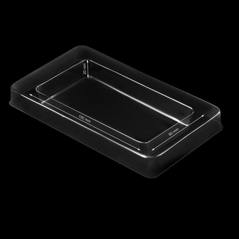 Pudełko Uniwersalne z okienkiem komplet (180x105x20mm)