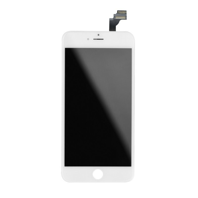 """Wyświetlacz do iPhone 6 5,5""""  z ekranem dotykowym białym HQ"""