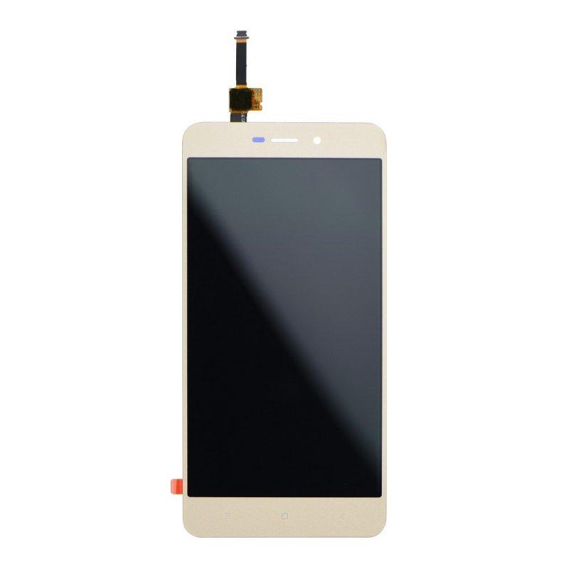 Wyświetlacz  do Xiaomi REDMI 4A z ekranem dotykowym złotym
