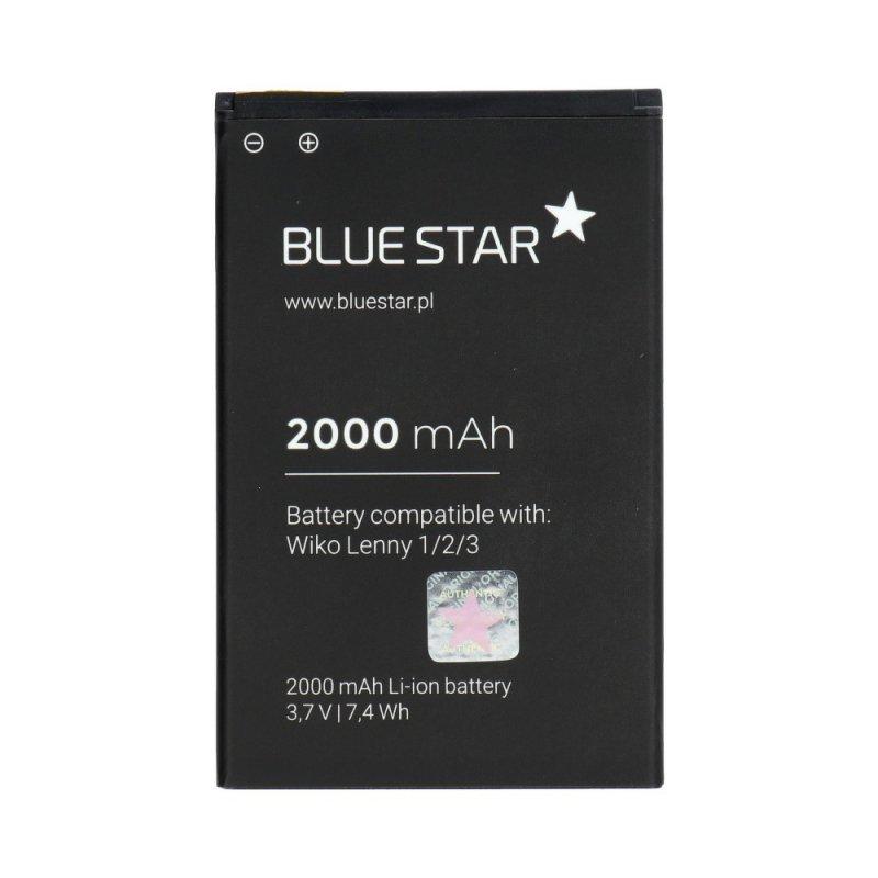 Bateria do Wiko Lenny1/2/3 2000 mAh Li-Ion Blue Star