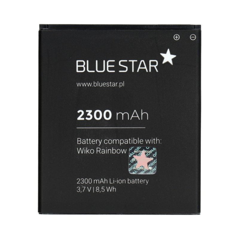 Bateria do Wiko Rainbow 2300 mAh Li-Ion Blue Star