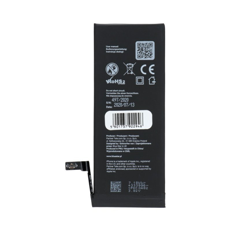Bateria do iPhone 6s 1715 mAh Polymer Blue Star HQ