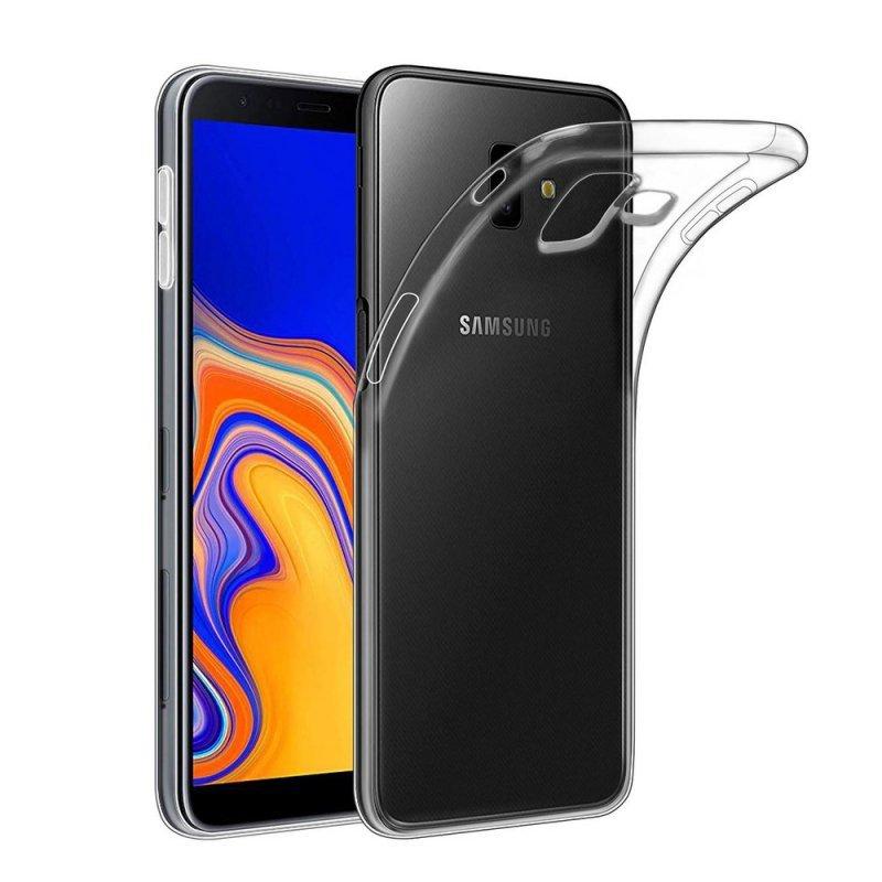 Futerał Back Case Ultra Slim 0,5mm do SAMSUNG Galaxy J6+ ( J6 Plus )