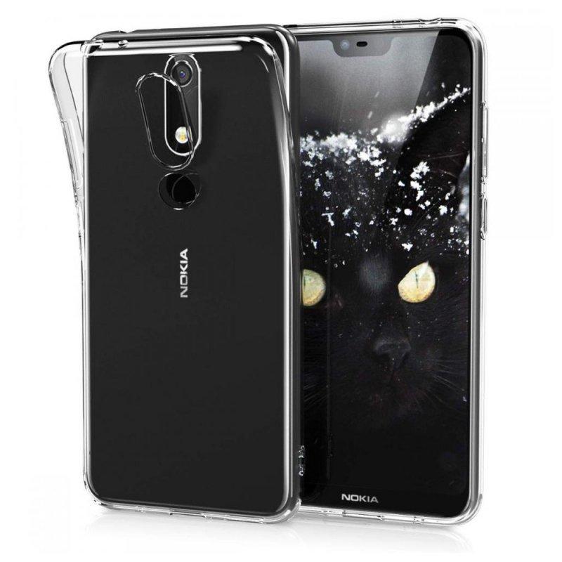 Futerał Back Case Ultra Slim 0,5mm do NOKIA 5.1