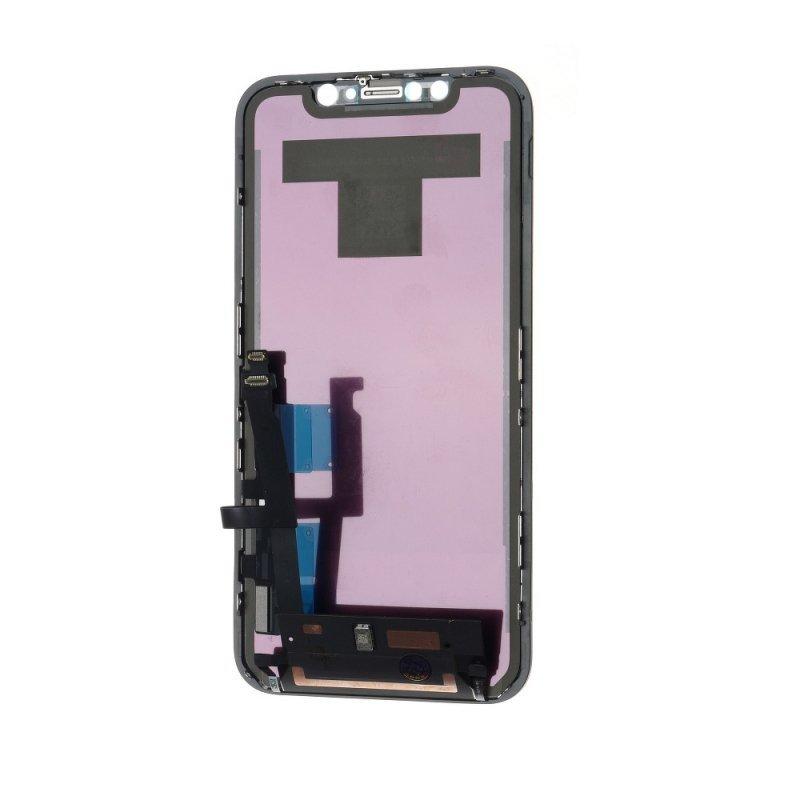 Wyświetlacz do iPhone Xr z ekranem dotykowym czarnym (Org. LCD)