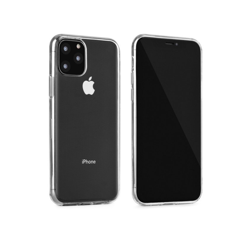 Futerał Back Case Ultra Slim 0,3mm do SAMSUNG Galaxy A20 transparent