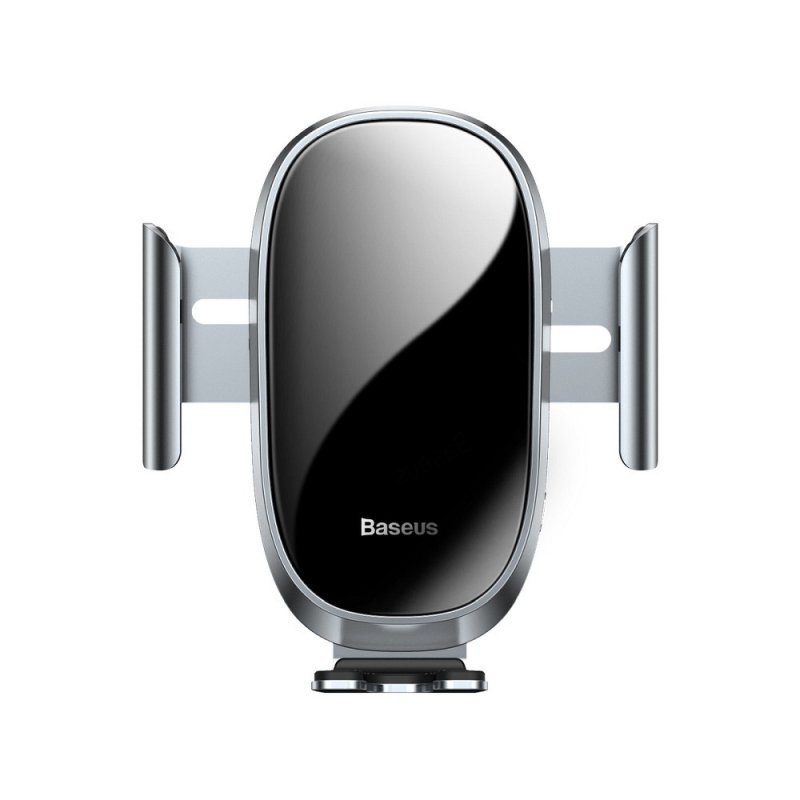 BASEUS uchwyt samochodowy do kratki Smart z automatycznym zamykaniem srebrny SUGENT-ZN0S.