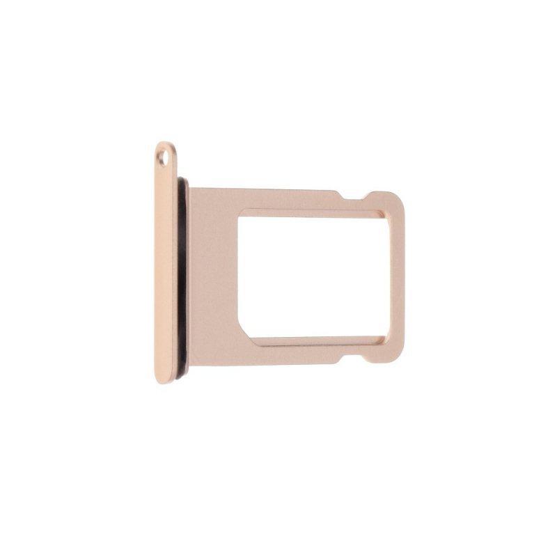 Szufladka karty SIM EQ IPHO 8 złoty róż