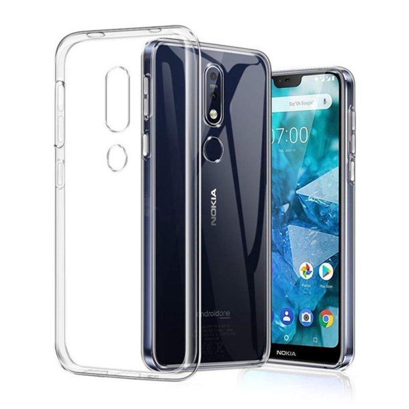 Futerał Back Case Ultra Slim 0,3mm do NOKIA 4.2 transparent