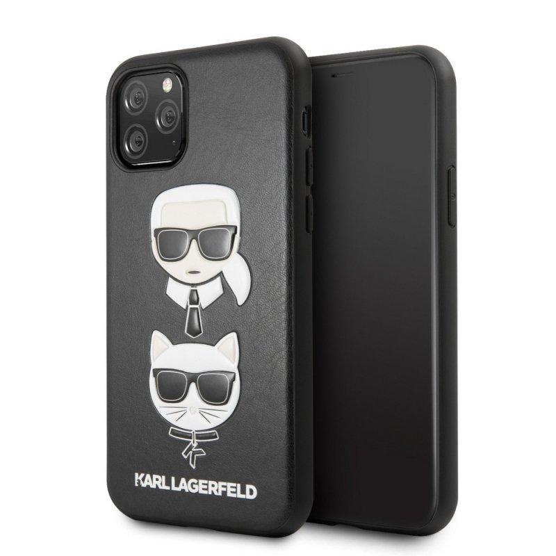 Oryginalne Etui KARL LAGERFELD Hardcase KLHCN58KICKC do iPhone 11 Pro czarny