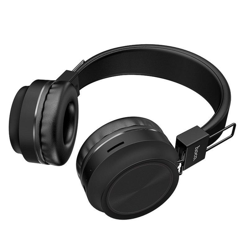 HOCO słuchawki bluetooth nagłowne Promise W25 czarne
